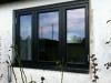 3-luft fönster med olika bredd på bågarna